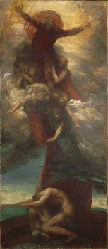 George Frederick Watts : The Denunciation of Adam and Eve