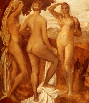 George Frederick Watts : The Judgement Of Paris