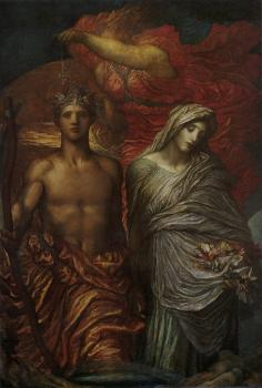 George Frederick Watts : Time Death and Judgement