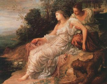 George Frederick Watts : Ariadne on the Island of Naxos