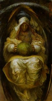 George Frederick Watts : Canvas painting