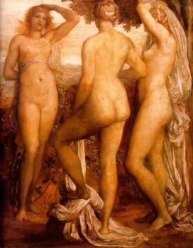 George Frederick Watts : Canvas painting IV