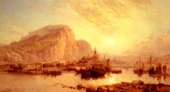 James Webb : View Of Dinant Belgium