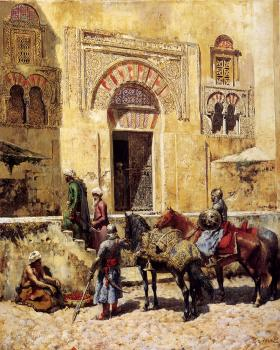 Edwin Lord Weeks : Entering the Mosque