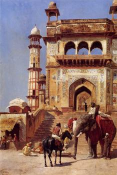 Edwin Lord Weeks : Before a Mosque