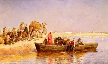 Edwin Lord Weeks : Along The Nile