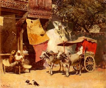 Edwin Lord Weeks : An Indian Gharry