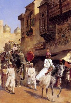Edwin Lord Weeks : Indian Prince and Parade Cermony