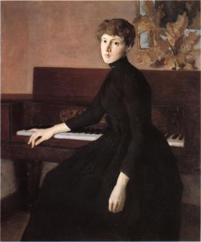Julian Alden Weir : At the Piano