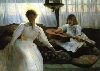 Julian Alden Weir : Idle Hours