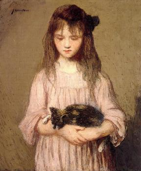 Julian Alden Weir : Little Lizie Lynch