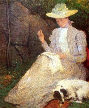 Julian Alden Weir : Summer aka Friends