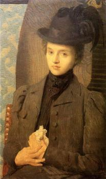 Julian Alden Weir : The Black Hat
