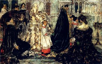 Albert Beck Wenzell : A Medieval Christmas