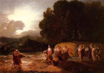 Benjamin West : Calypso's Reception of Telemachus and Mentor