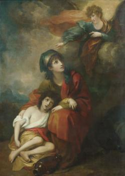 Benjamin West : Hagar And Ishmael