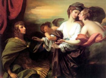 Benjamin West : Helen Brought From Paris
