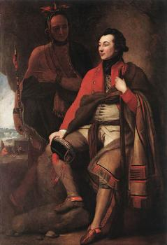 Benjamin West : Portrait of Colonel Guy Johnson