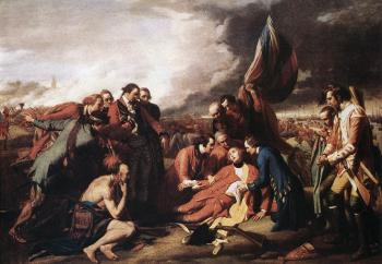Benjamin West : The Death of General Wolfe