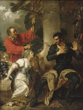 Benjamin West : The Damsel And Orlando