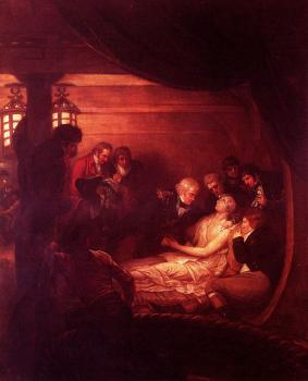 Benjamin West : The Death Of Nelson