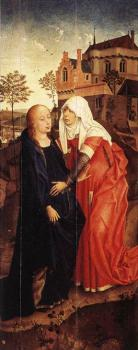 Rogier Van Der Weyden : Annunciation Triptych, right