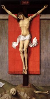 Rogier Van Der Weyden : Crucifixion Diptych, right panel