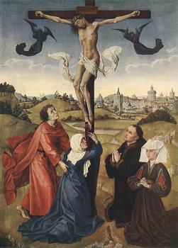 Crucifixion Triptych, central panel