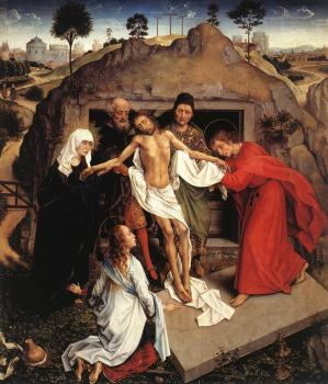 Rogier Van Der Weyden : Entombment of Christ