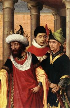 Rogier Van Der Weyden : Group of Men