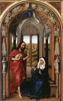 Rogier Van Der Weyden : Miraflores Altarpiece, right panel