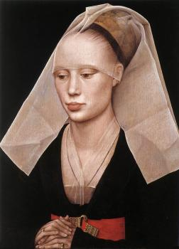 Rogier Van Der Weyden : Portrait of a Lady