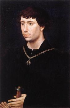 Rogier Van Der Weyden : Portrait of Charles the Bold