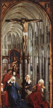 Rogier Van Der Weyden : Seven Sacraments Altarpiece, Central Panel