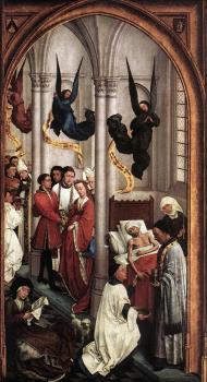 Rogier Van Der Weyden : Seven Sacraments Altarpiece, Right Wing