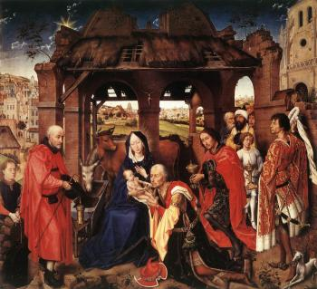Rogier Van Der Weyden : St Columba Altarpiece, central panel