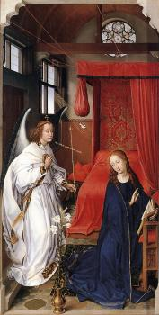 Rogier Van Der Weyden : St Columba Altarpiece, left panel