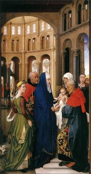 Rogier Van Der Weyden : St Columba Altarpiece, right panel