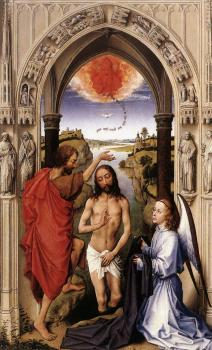 Rogier Van Der Weyden : SSt John Altarpiece, central panel