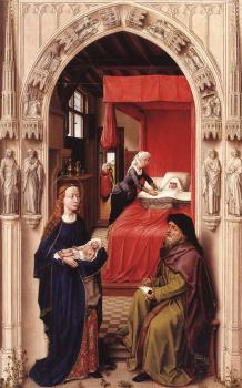 Rogier Van Der Weyden : St John Altarpiece, left panel