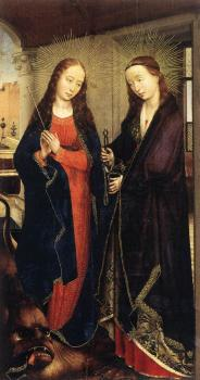 Rogier Van Der Weyden : Sts Margaret and Apollonia