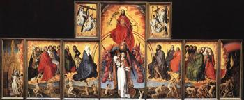 Rogier Van Der Weyden : The Last Judgment