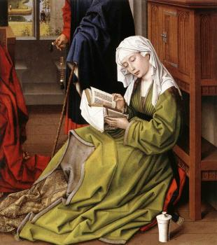 Rogier Van Der Weyden : The Magdalene Reading
