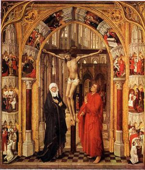 Rogier Van Der Weyden : Triptych of the Redemption, central