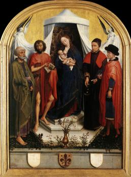 Rogier Van Der Weyden : Virgin with the Child and Four Saints