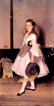 James Abbottb McNeill Whistler : Miss Cicely Alexander