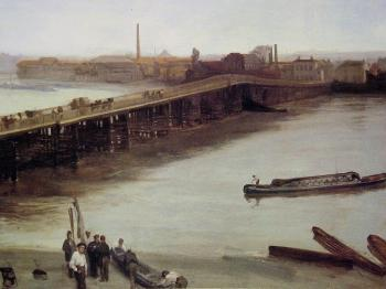 James Abbottb McNeill Whistler : Old Battersea Bridge