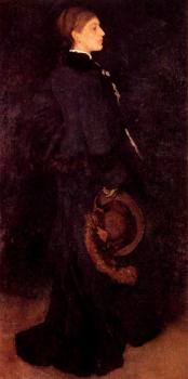 James Abbottb McNeill Whistler : Portrait of Miss Rosa Corder