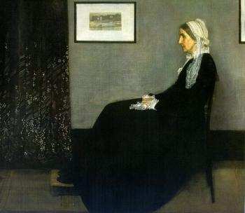 James Abbottb McNeill Whistler : Portrait of the Painter's Mother