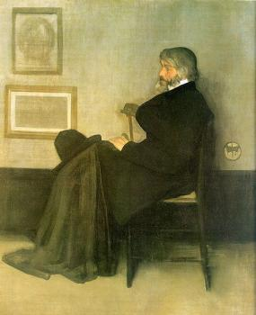 James Abbottb McNeill Whistler : Portrait of Thomas Carlyle